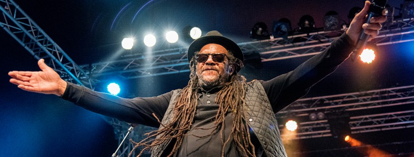 UB40 beim Zeltfestival Ruhr am 22. August 2015. Foto: AWi