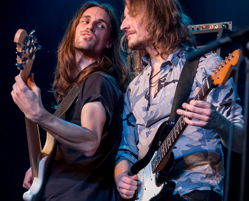 Crystal Breed als Support Act von Uli Jon Roth im Dortmunder FZW am 29. September 2015. Foto: AWi
